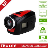 F22 Sport Camera HD 1080P Action Camera with 20m waterproof case camera