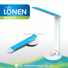 LONEN 36SMD foldable plastic touch table lamp