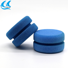 Blue Round Tyre Dressing Applicator Sponges