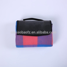 wholesale factory price free sample waterproof electric portable black picnic blanket