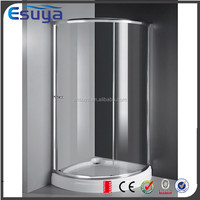 Shanghai Esuya supplier stainless steel frame entry sliding door shower partition, europe pivot shower room
