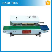 Continuous Bag Sealing Machine/Auto matic/Film continue sealing machine continuous heat plastic bag sealer BF-900W