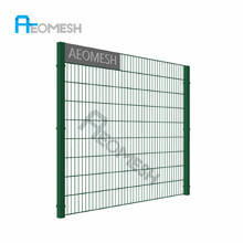 Double Loop wire mesh garden Fence