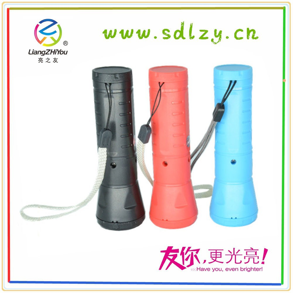 Environment protection torchlight led flashlight 100lm