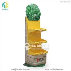 HIC candy paper display rocks, promotional bubble gum floor display