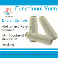 antimicrobial dralon cotton yarn