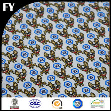 Factory direct high quality new style digital dress bingo print fabric