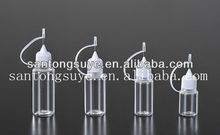 wholesale e cigarette itaste e-liquid bottle 5ml 10ml 15ml 20ml with needle cap