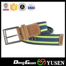 Custom Mens Woven Military Canvas belts with Pin Buckle