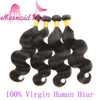 High Quality Human Hair Virgin Unprocessed Brazilian Body Wave Hair Extensions
