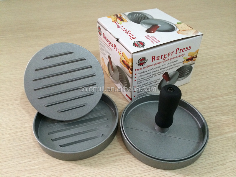 Beef Burger Patty Mould Patties Disposable Paper Pail Press Machine For Hamburger