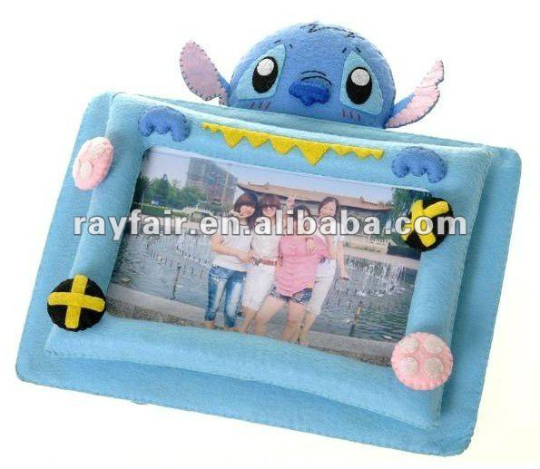 DIY felt craft photo frame handmade non-woven craft for kids