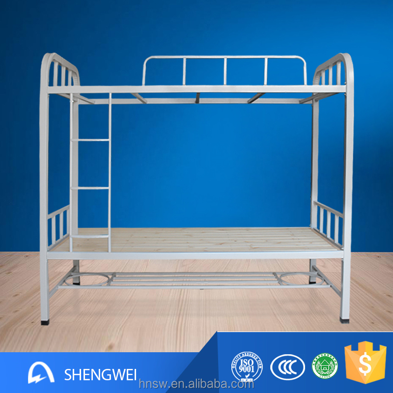 Luoyang shengwei durable 2 person metal twin over queen size bunk bed