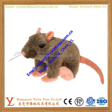 Rat animal toys lifelike stuffed mouse plush toy rats soft toys