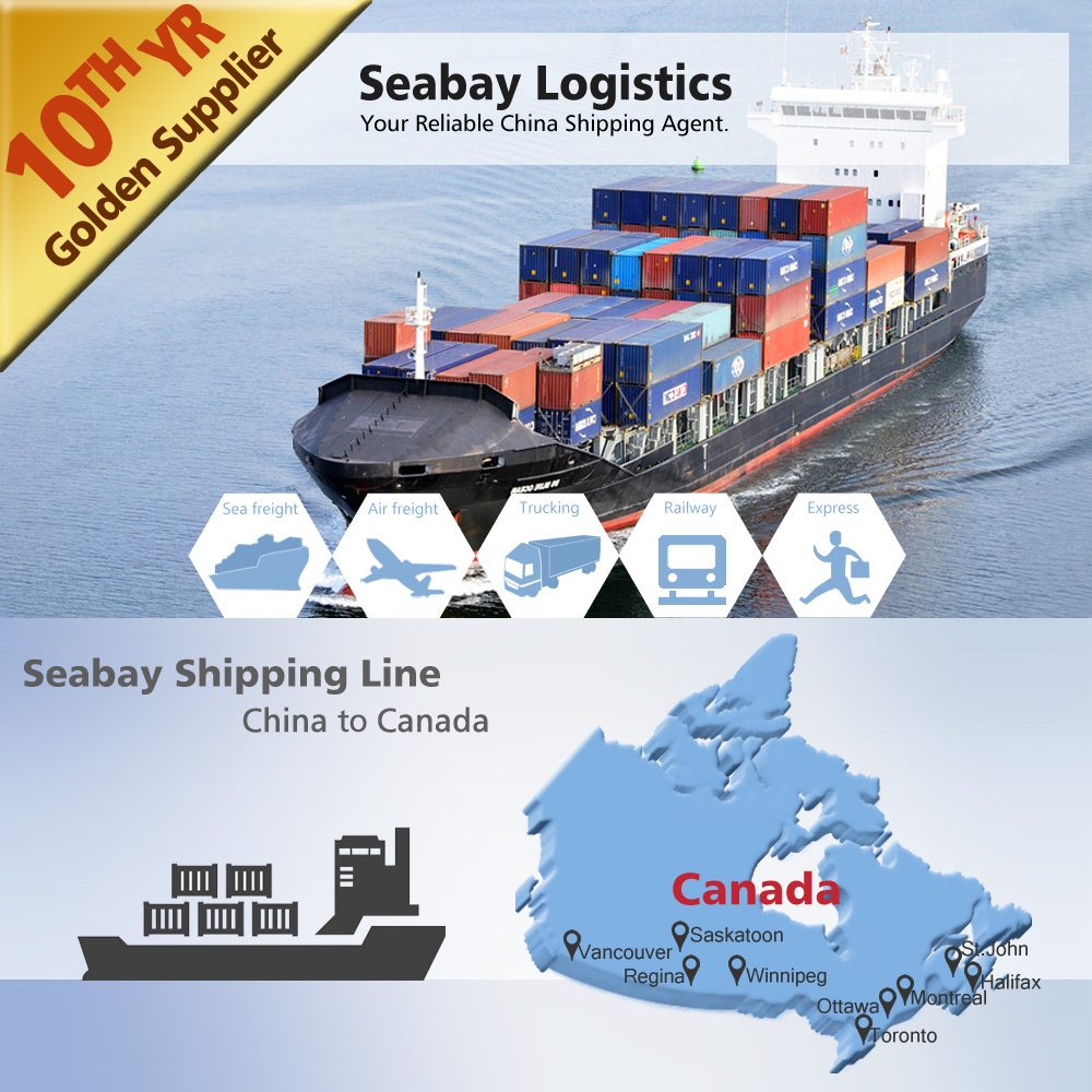 ocean/sea freight container shipping from china to Canada