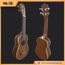 Acacia wooden soprano ukulele with cheap price
