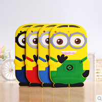 3d animal anti-shock handheld cute silicone case for ipad mini 2 3 4 5