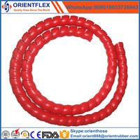Yellow spiral guard / hose protector