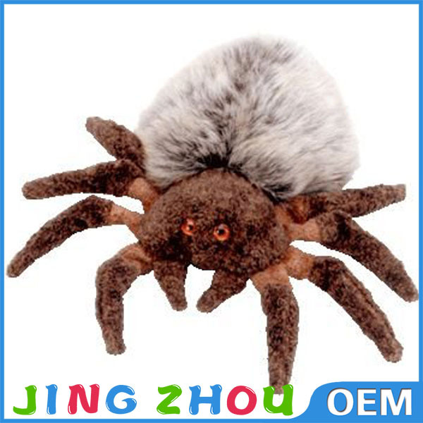 toys 2015 hot selling,plush stuffy toy,plush spider looks real