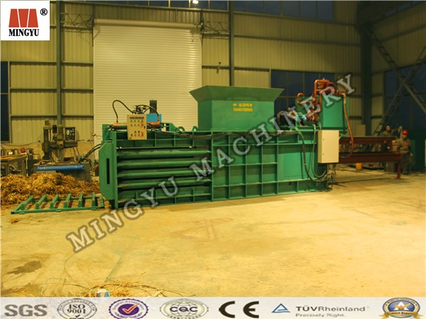 heavy power Easy to maintain waste tire tyre all hydraulic briquet bag machinery for Australia