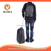Trolley Rolling Backpack With Detachable Backpack