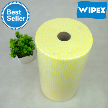 Non woven Disposable Dish Cloths Cleaning Dry Wipes