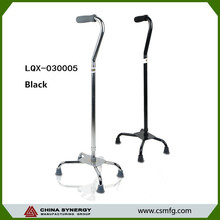 Rehabilitation therapy crutch with wheels and stable walking stick