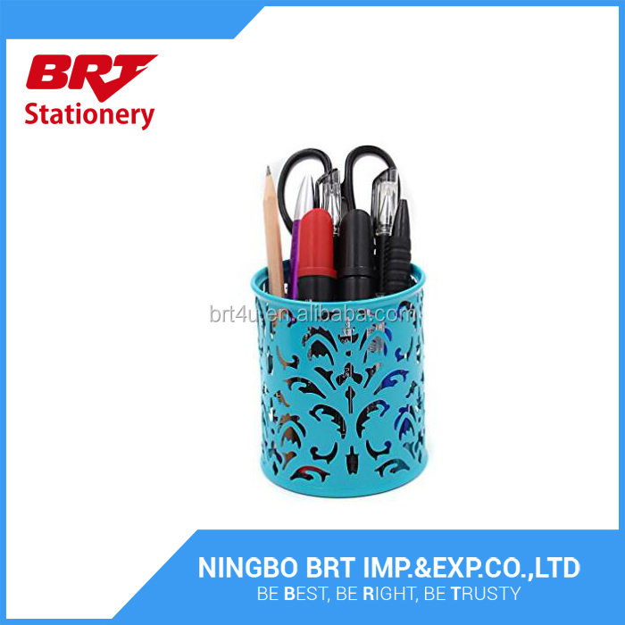 Pencil holder metal pen holder Round Pencil Holder