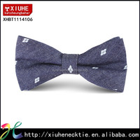 Mens 2015 New Cotton Patterned Print Bow Tie Jean