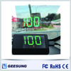 LED car multimedia hud head up display with gps module