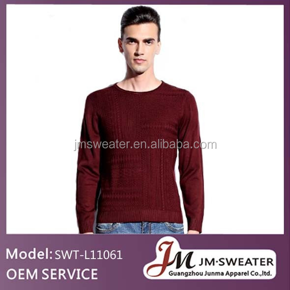 Men jumper knitting mexican patterns custom male sweaters