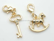2015 Fashion golden charms for DIY