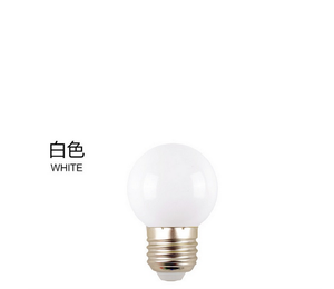 0.5W 1W 2W 3W christmas mini led bulb E27/B22 g45 colorful led bulb warm white