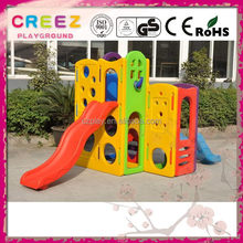 Latest cheap plastic kids slide and swing