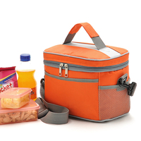 2016 best selling nylon PEVA lining waterproof insulated lunch bag cooler ,cooler bag for keep warm delivery food delivery