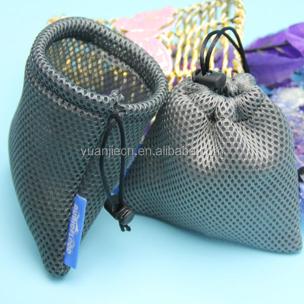 drawstring fancy colorful phone mesh draw string bags travel bag pouch wholesales