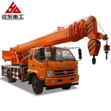 Workshop dump truck with crane used