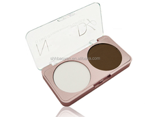 2Colours face powder high lighter shimmer powder for skin