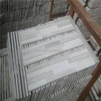 factory supply popular marble grey stripes wall panel block