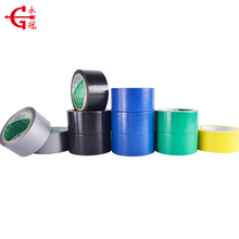 Waterproof strong adhesive OEM color rubber PVC duct tape cold pipeline tape