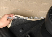 flocking fabric car floor mats with anti-skid bottom Manufacturers in shanghai