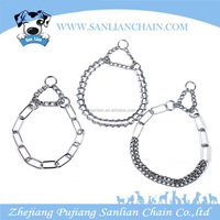 Top quality dog chain Collar heavy duty retractable dog training collar