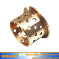 China mechanical hardware prmf303430 flange bronze bushing wb802 bearing bush bronze bushings