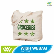 Factory Customized recyclable heavy canvas tote bag