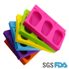 DIY Eco-Friendly Homemade Silicone Popsicles Mold Ice Cream Mold