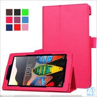 2016 Litchi PU Leather Stand Case for LENOVO TAB3 7 Essential 710F
