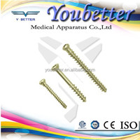 Cancellous Screw Stainless steel & Titanium Suzhou Youbetter, orthopedic implants and instruments