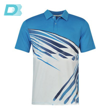 Custom Embroidered Men's Sport Running Polo T Shirts With Logo