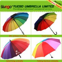 best selling products corporate gift straight rainow golf umbrella