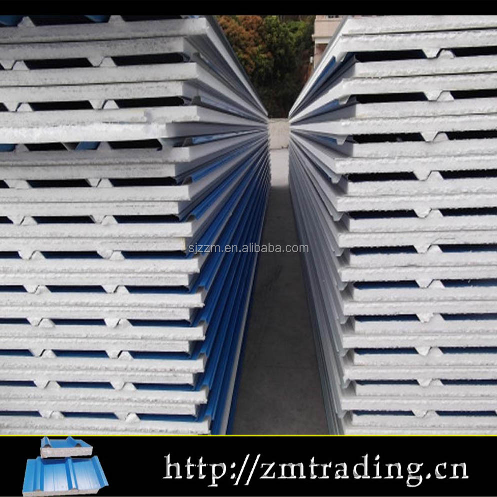 Water Proof And Fire Proof Eps Sandwich Panel Price